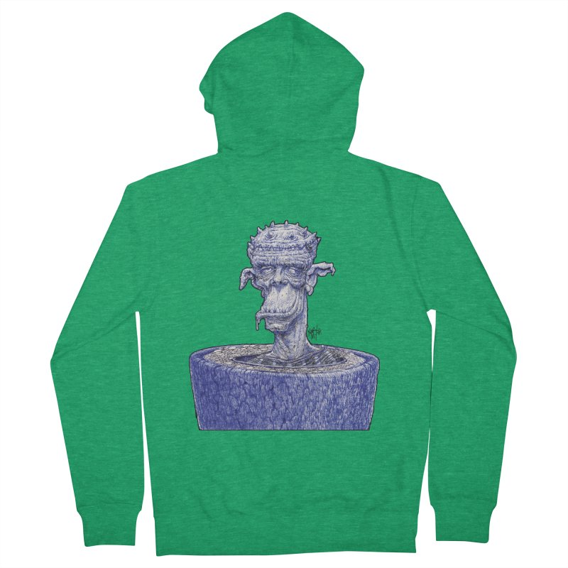 Marx Myth - Ogre Tree Women's Zip-Up Hoody by The Modern Goldfish Shop