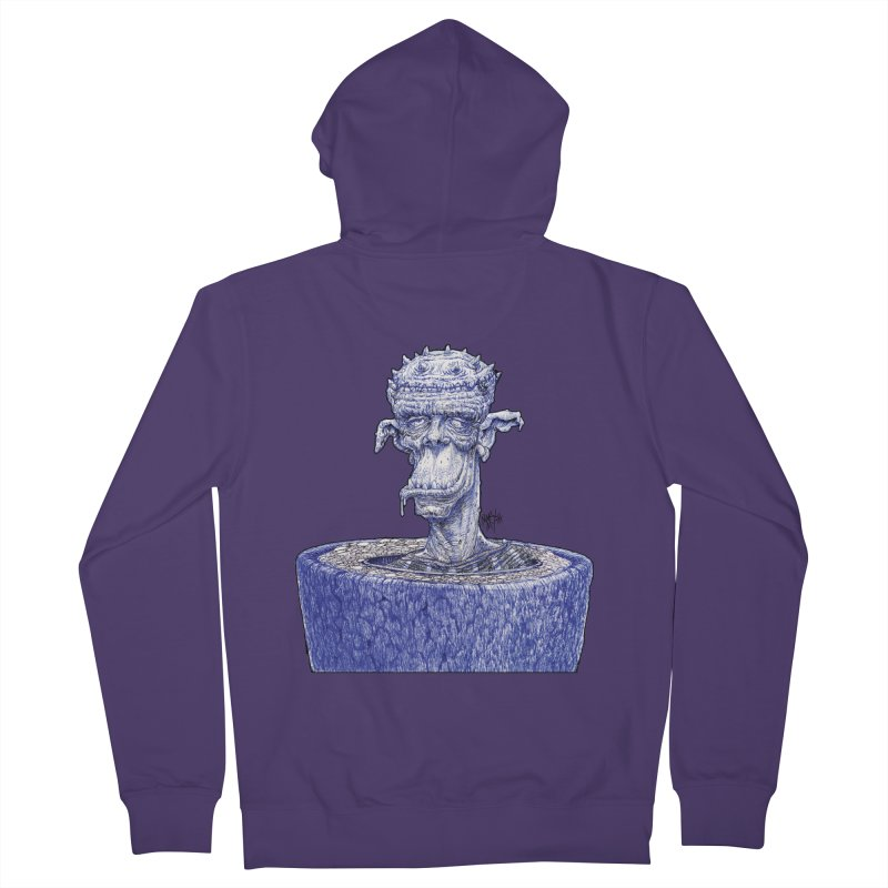Marx Myth - Ogre Tree Women's French Terry Zip-Up Hoody by The Modern Goldfish Shop