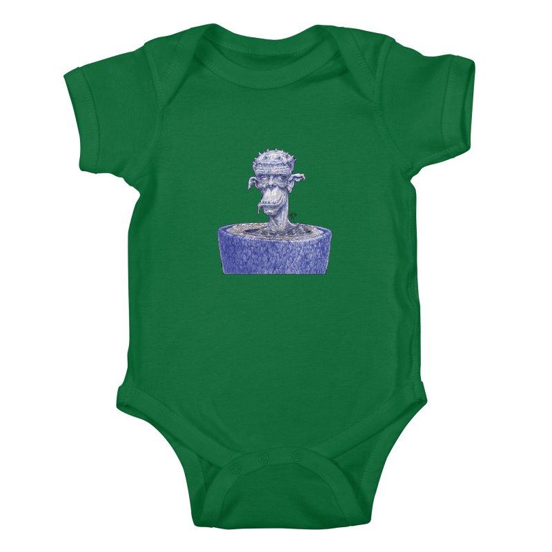 Marx Myth - Ogre Tree Kids Baby Bodysuit by The Modern Goldfish Shop