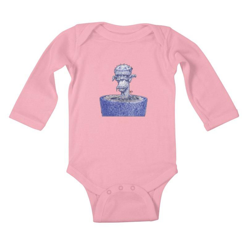 Marx Myth - Ogre Tree Kids Baby Longsleeve Bodysuit by The Modern Goldfish Shop