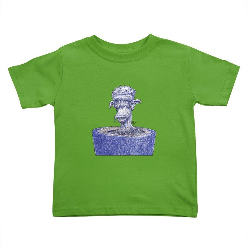 Marx Myth - Ogre Tree Kids Toddler T-Shirt by The Modern Goldfish Shop