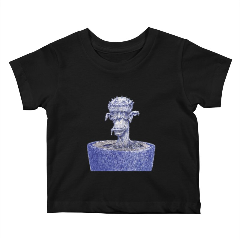Marx Myth - Ogre Tree Kids Baby T-Shirt by The Modern Goldfish Shop