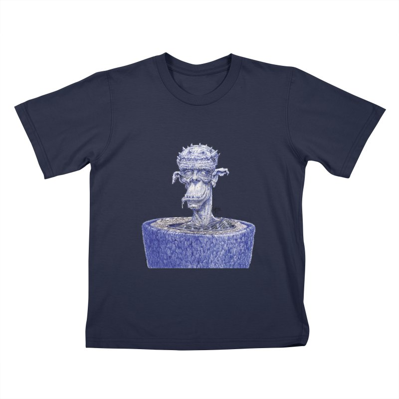 Marx Myth - Ogre Tree Kids T-Shirt by The Modern Goldfish Shop