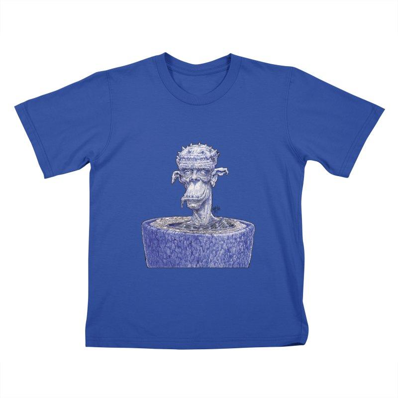 Marx Myth - Ogre Tree Kids T-Shirt by The Modern Goldfish Shop