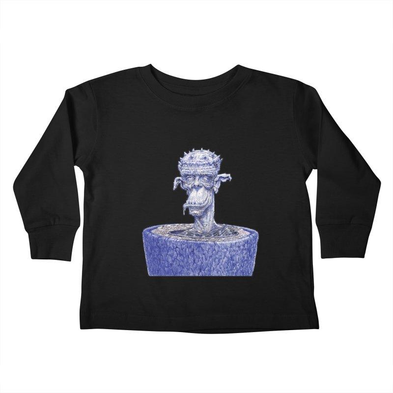 Marx Myth - Ogre Tree Kids Toddler Longsleeve T-Shirt by The Modern Goldfish Shop