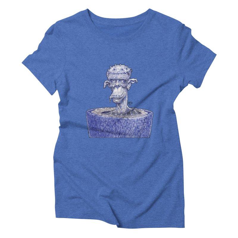 Marx Myth - Ogre Tree Women's Triblend T-Shirt by The Modern Goldfish Shop