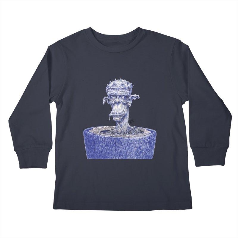 Marx Myth - Ogre Tree Kids Longsleeve T-Shirt by The Modern Goldfish Shop