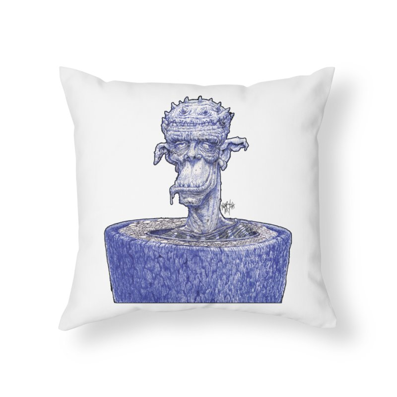 Marx Myth - Ogre Tree Home Throw Pillow by The Modern Goldfish Shop
