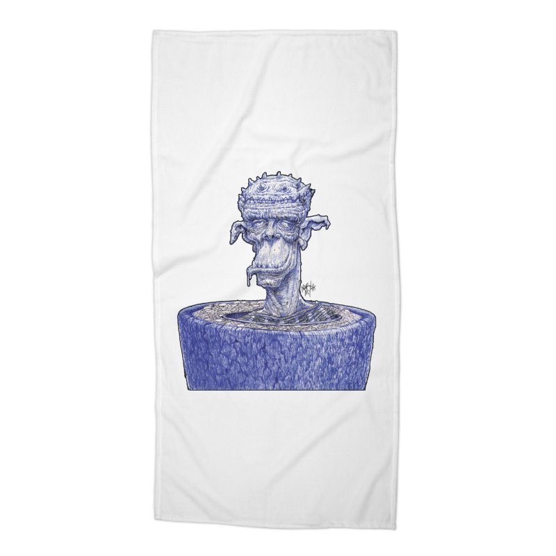 Marx Myth - Ogre Tree Accessories Beach Towel by The Modern Goldfish Shop