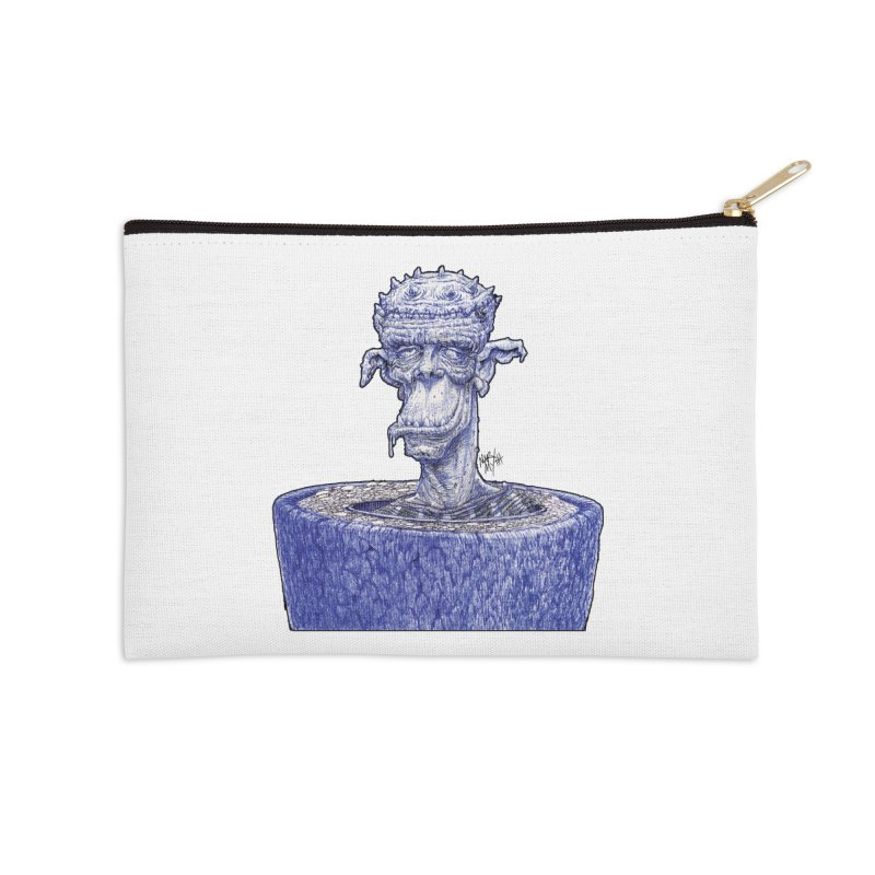 Marx Myth - Ogre Tree Accessories Zip Pouch by The Modern Goldfish Shop