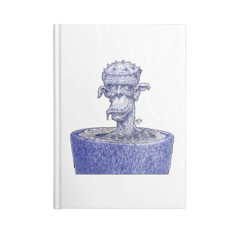 Marx Myth - Ogre Tree Accessories Blank Journal Notebook by The Modern Goldfish Shop