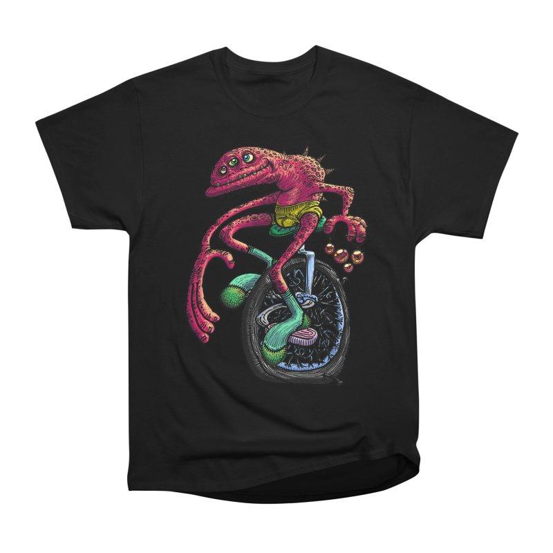Marx Myth - Unicyclist Men's T-Shirt by The Modern Goldfish Shop