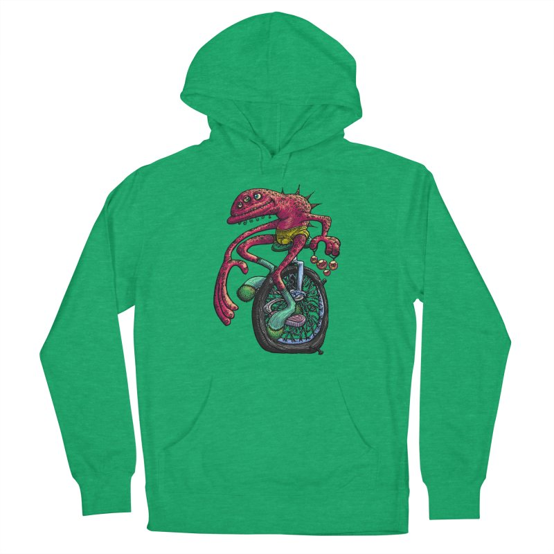 Marx Myth - Unicyclist Men's Pullover Hoody by The Modern Goldfish Shop
