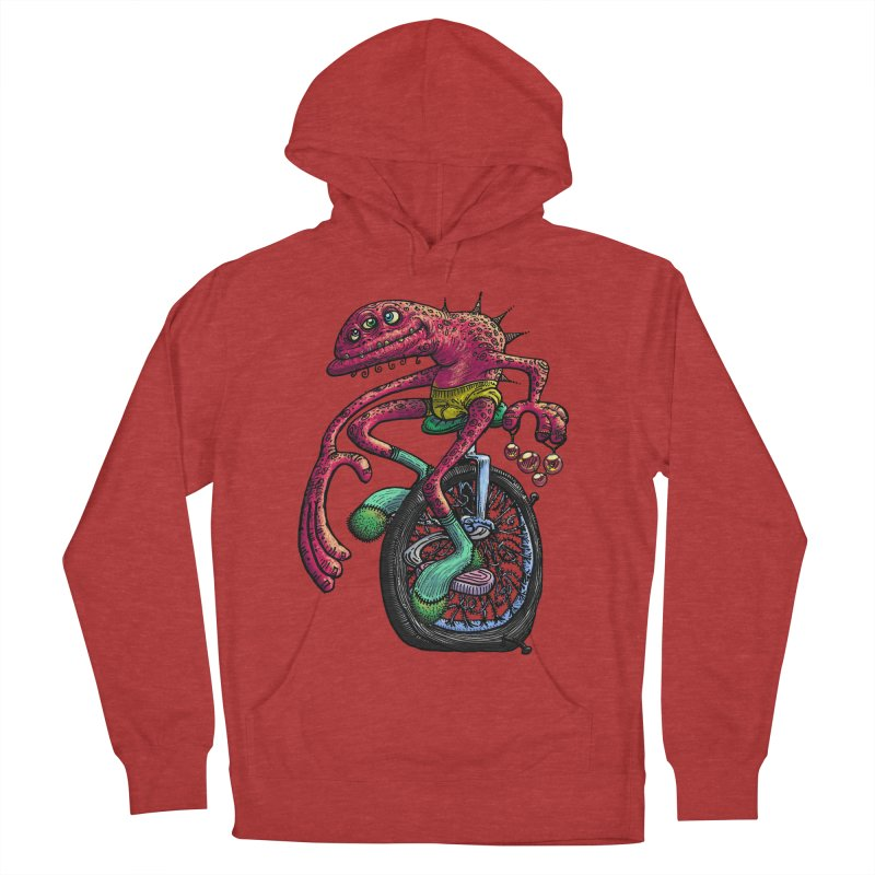 Marx Myth - Unicyclist Men's French Terry Pullover Hoody by The Modern Goldfish Shop