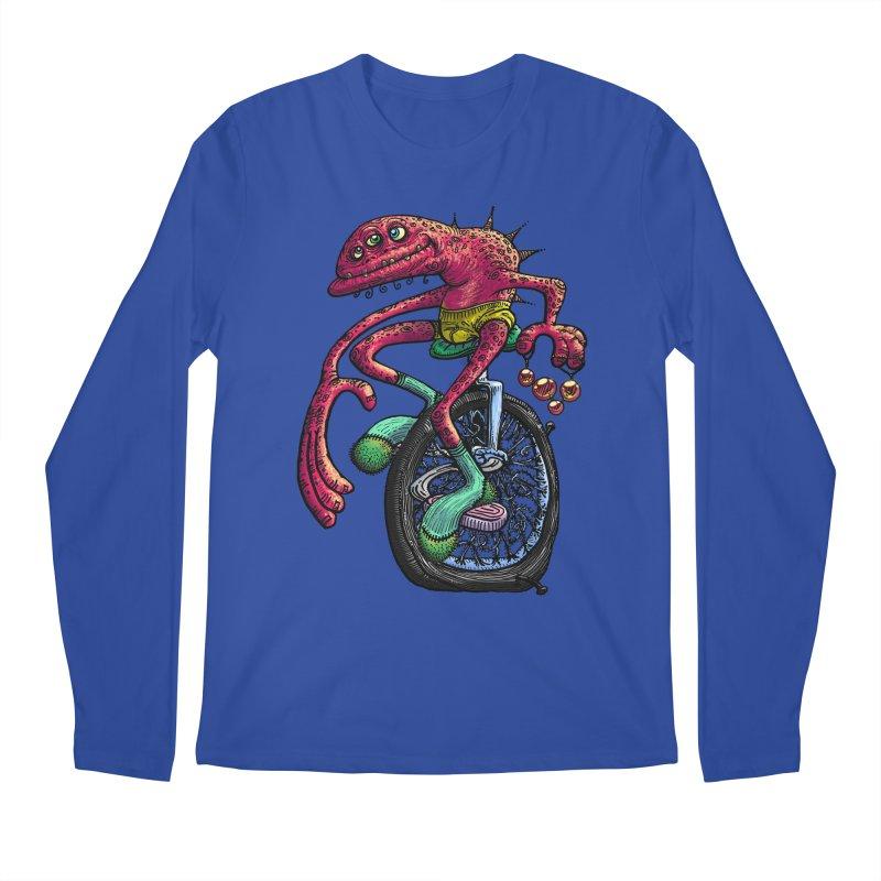 Marx Myth - Unicyclist Men's Regular Longsleeve T-Shirt by The Modern Goldfish Shop