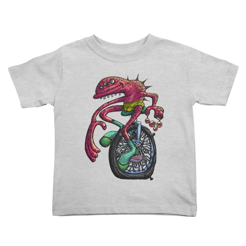 Marx Myth - Unicyclist Kids Toddler T-Shirt by The Modern Goldfish Shop