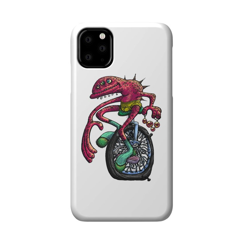 Marx Myth - Unicyclist Accessories Phone Case by The Modern Goldfish Shop