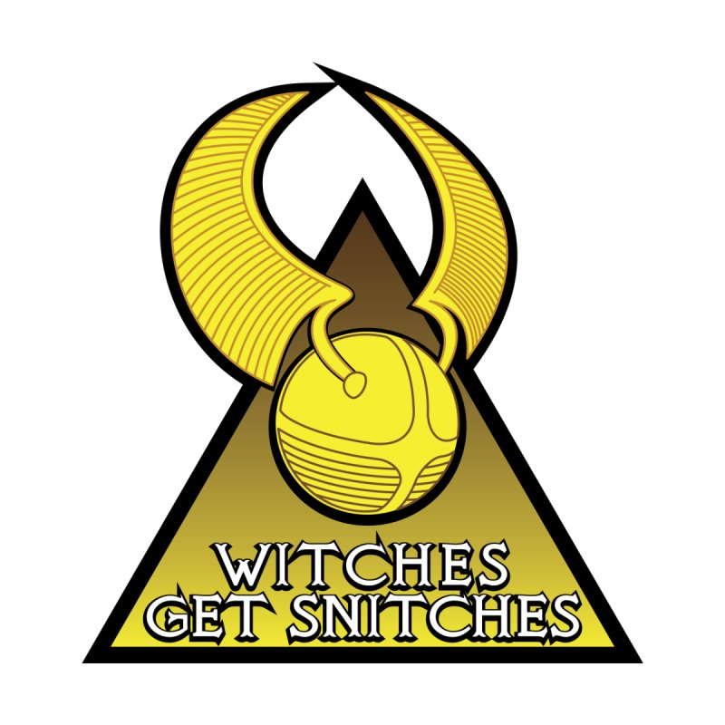 Witches Get Snitches Men's T-Shirt by The Modern Goldfish Shop