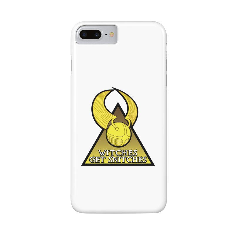 Witches Get Snitches Accessories Phone Case by The Modern Goldfish Shop