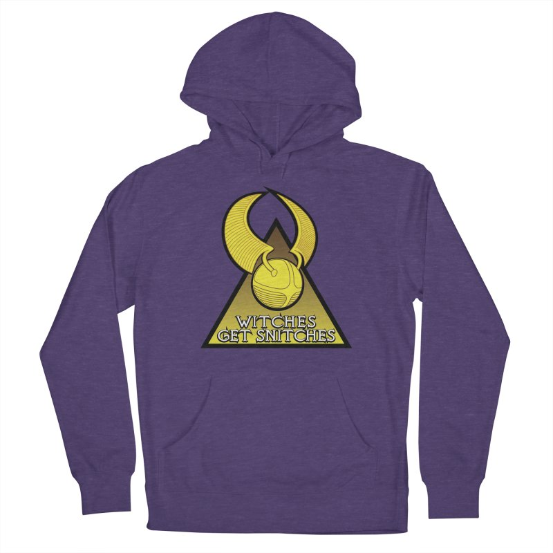 Witches Get Snitches Men's Pullover Hoody by The Modern Goldfish Shop