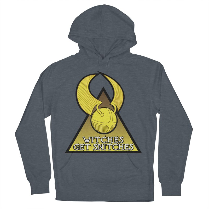 Witches Get Snitches Men's French Terry Pullover Hoody by The Modern Goldfish Shop