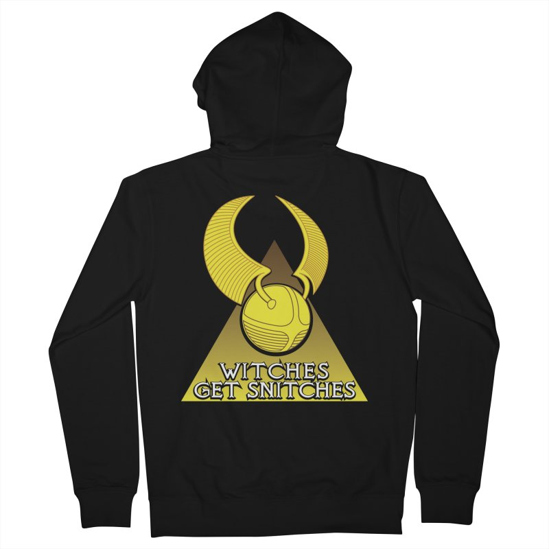 Witches Get Snitches Men's Zip-Up Hoody by The Modern Goldfish Shop
