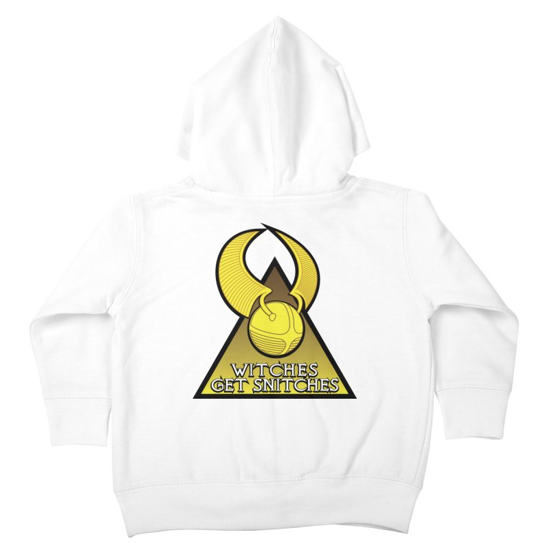 Witches Get Snitches Kids Toddler Zip-Up Hoody by The Modern Goldfish Shop