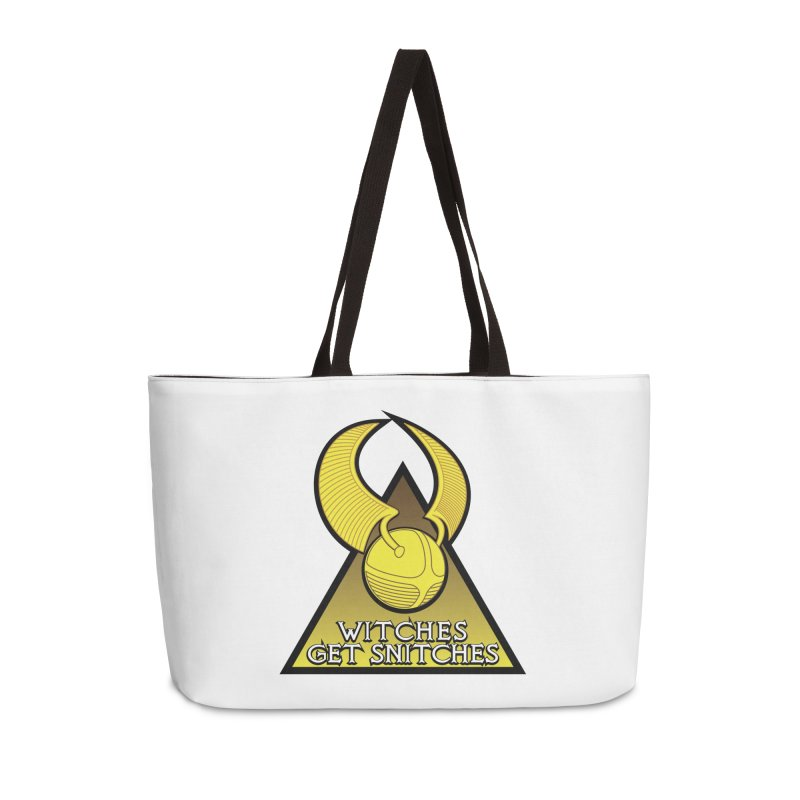 Witches Get Snitches Accessories Weekender Bag Bag by The Modern Goldfish Shop