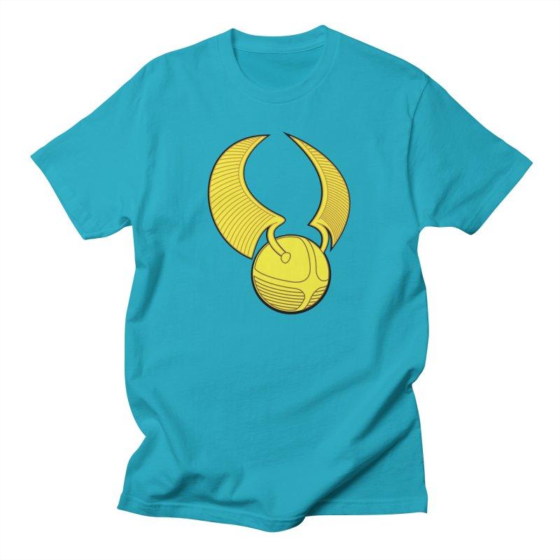 Golden Snitch Men's T-Shirt by The Modern Goldfish Shop