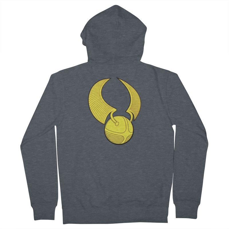 Golden Snitch Women's Zip-Up Hoody by The Modern Goldfish Shop
