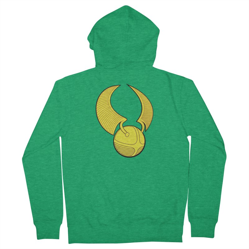 Golden Snitch Men's Zip-Up Hoody by The Modern Goldfish Shop