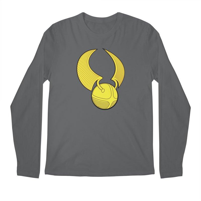 Golden Snitch Men's Longsleeve T-Shirt by The Modern Goldfish Shop