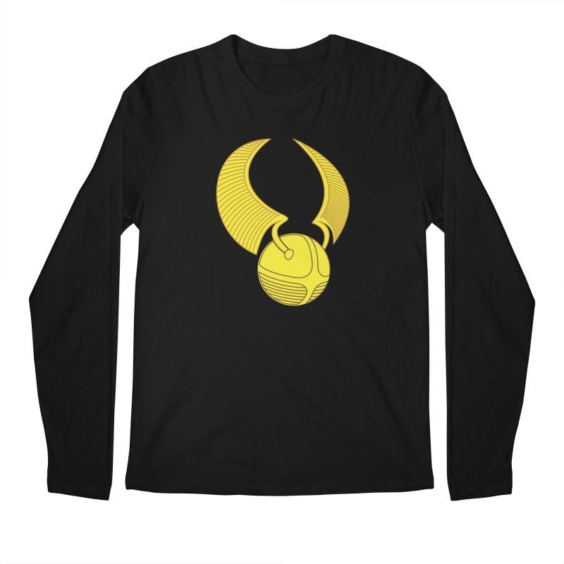 Golden Snitch Men's Regular Longsleeve T-Shirt by The Modern Goldfish Shop