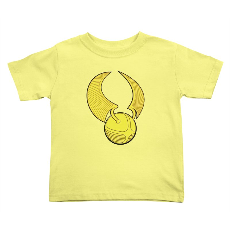 Golden Snitch Kids Toddler T-Shirt by The Modern Goldfish Shop