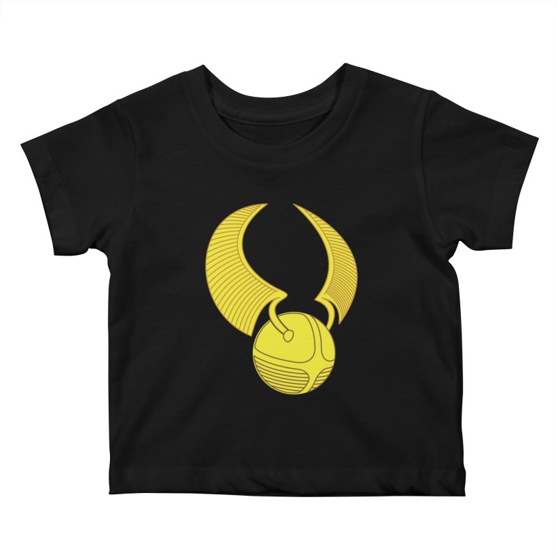 Golden Snitch Kids Baby T-Shirt by The Modern Goldfish Shop