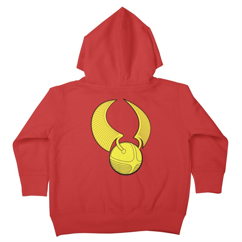 Golden Snitch Kids Toddler Zip-Up Hoody by The Modern Goldfish Shop