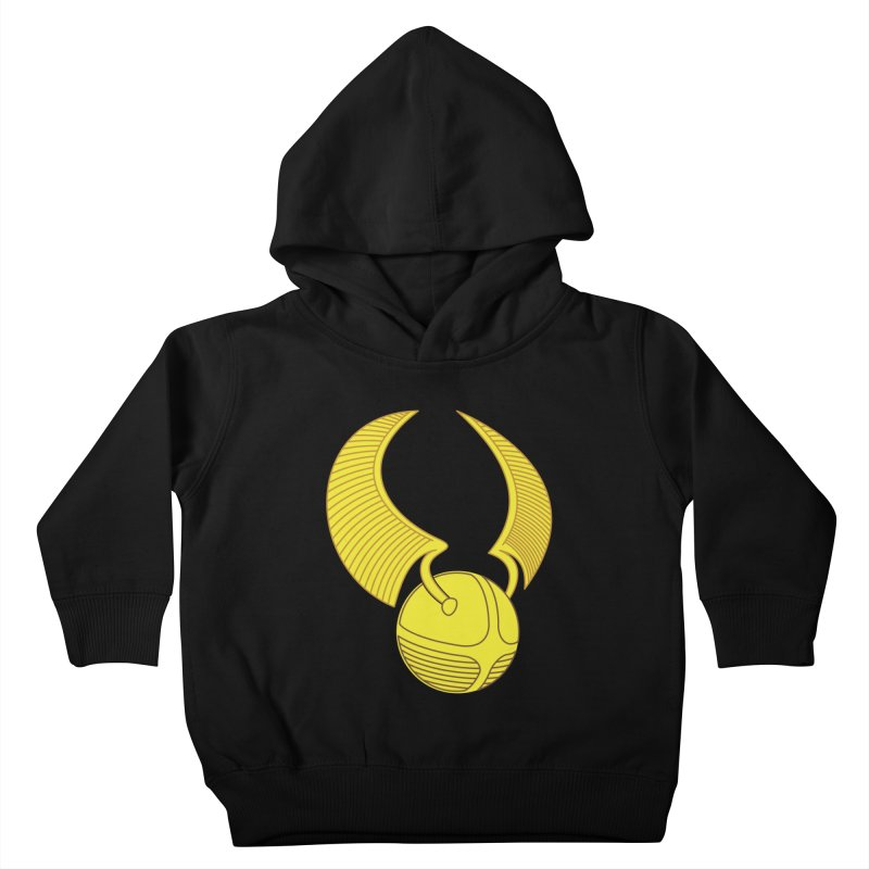 Golden Snitch Kids Toddler Pullover Hoody by The Modern Goldfish Shop