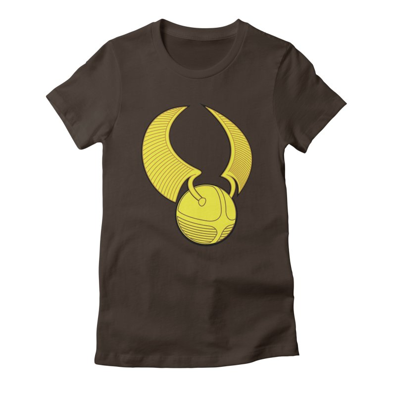 Golden Snitch Women's T-Shirt by The Modern Goldfish Shop