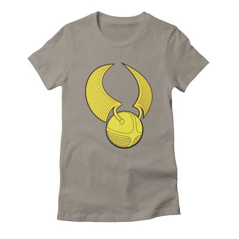Golden Snitch Women's T-Shirt by The Modern Goldfish Shop