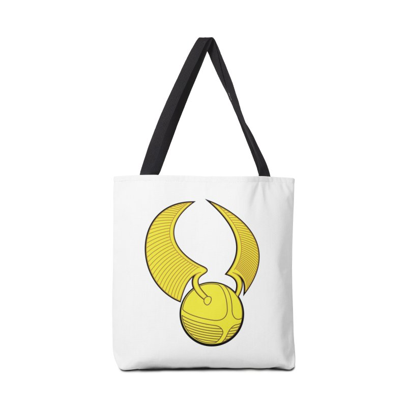 Golden Snitch Accessories Tote Bag Bag by The Modern Goldfish Shop