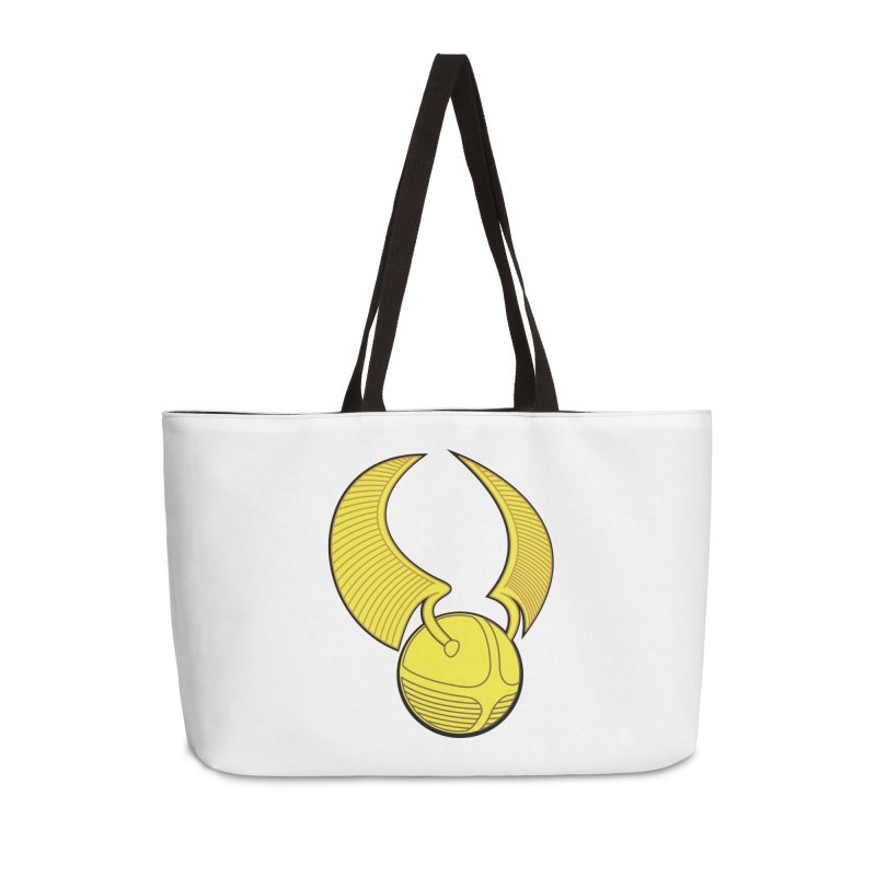 Golden Snitch Accessories Weekender Bag Bag by The Modern Goldfish Shop