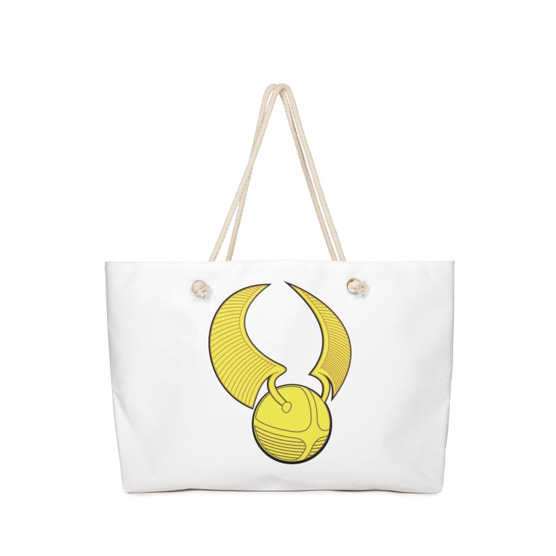 Golden Snitch Accessories Bag by The Modern Goldfish Shop