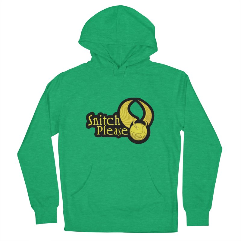 Snitch Please Men's Pullover Hoody by The Modern Goldfish Shop