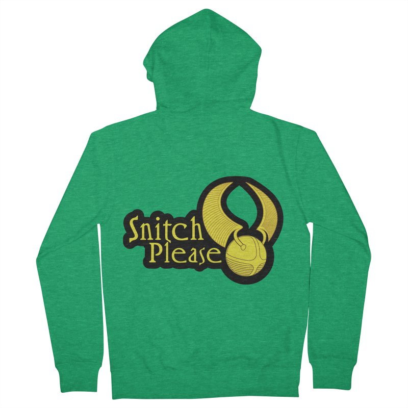 Snitch Please Women's Zip-Up Hoody by The Modern Goldfish Shop