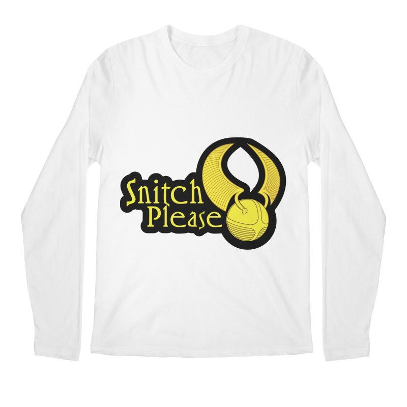 Snitch Please Men's Longsleeve T-Shirt by The Modern Goldfish Shop