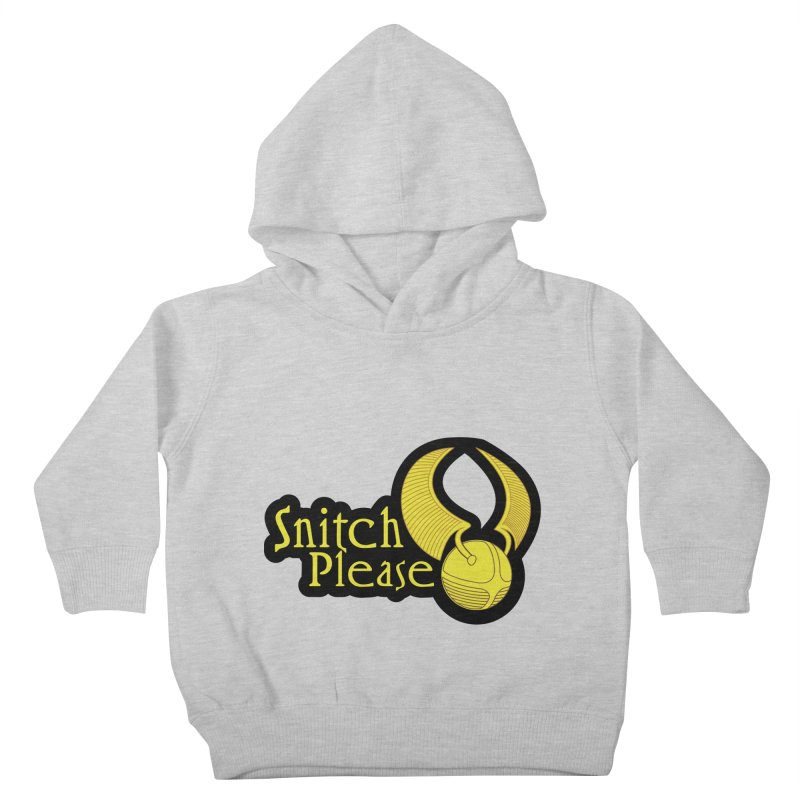 Snitch Please Kids Toddler Pullover Hoody by The Modern Goldfish Shop