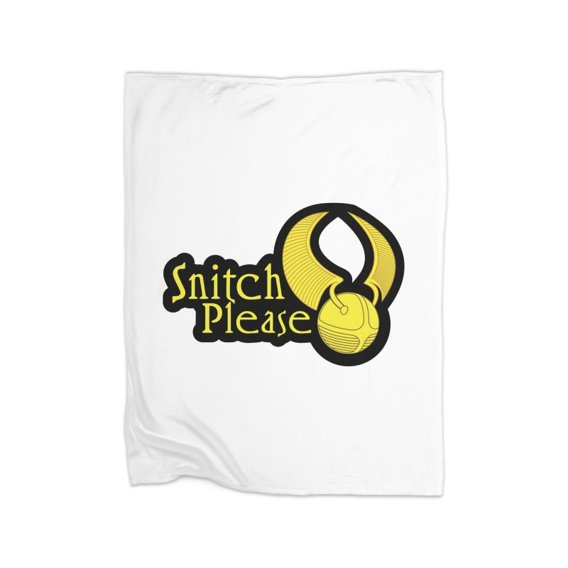 Snitch Please Home Blanket by The Modern Goldfish Shop
