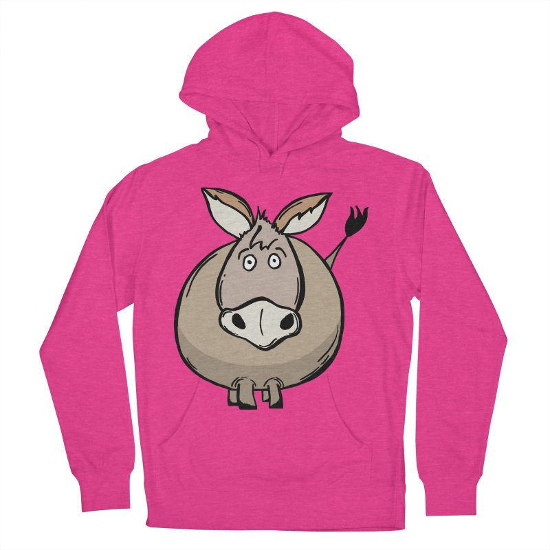 Sweet Donkey Women's French Terry Pullover Hoody by The Modern Goldfish Shop