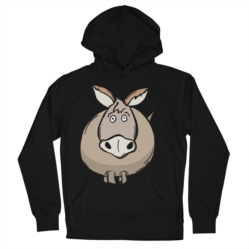 Sweet Donkey Men's French Terry Pullover Hoody by The Modern Goldfish Shop