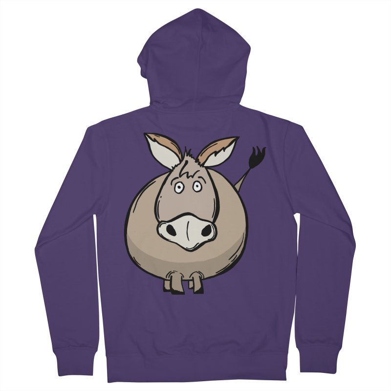 Sweet Donkey Women's French Terry Zip-Up Hoody by The Modern Goldfish Shop